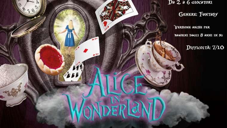 Alice in Wonderland escape room cagliari