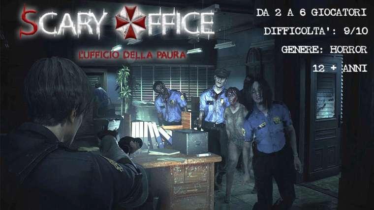 Scary Office escape room cagliari