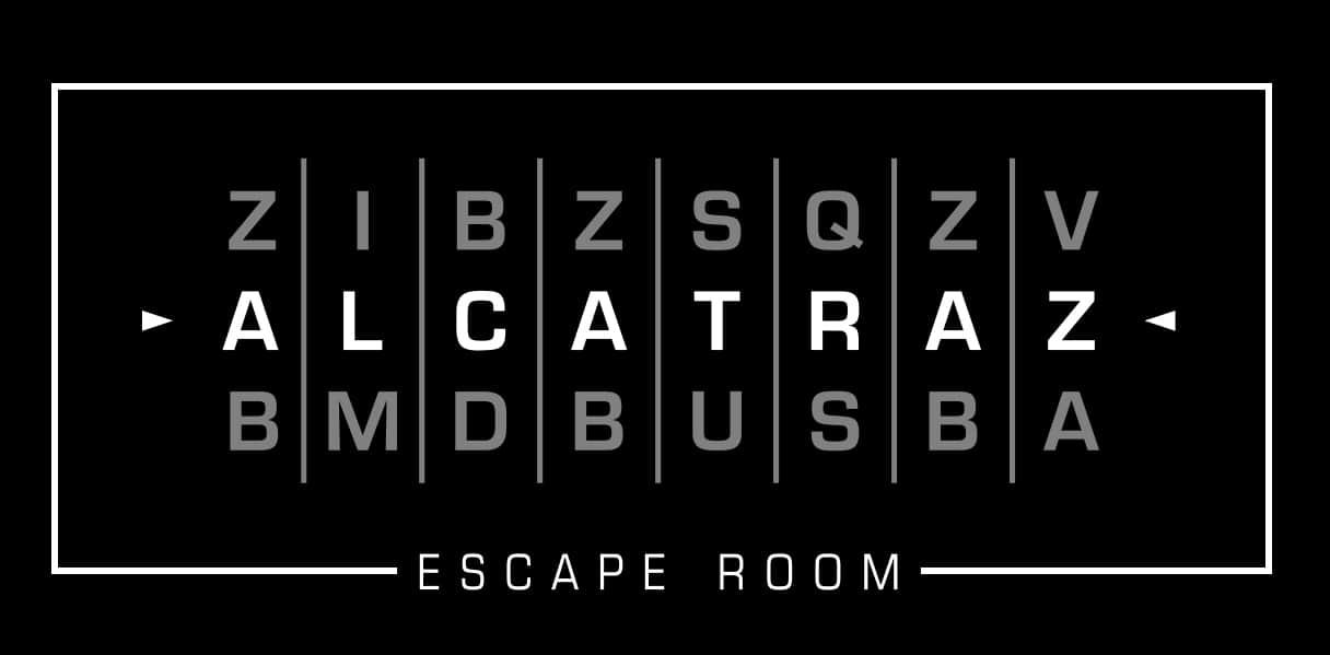 logo di escape room cagliari alcatraz